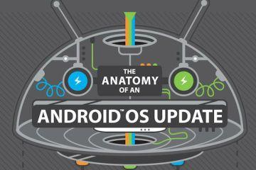 Infográfico: Como é feito o update de um Android?