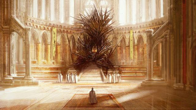 O verdadeiro Iron Throne de Westeros