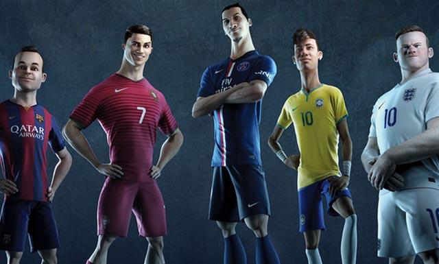 Nike surpreende com animação sobre o futebol