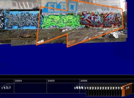 Imagen de la página de Arqueologías del graffiti