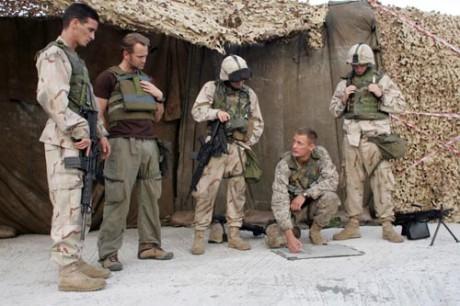 Imagen de la serie Generation Kill sobre la guerra de Irak