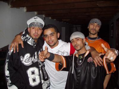 La estética de los grupos de hiphop marroquís