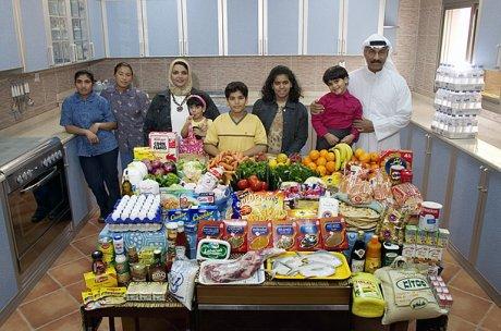 Una semana de comida en Kuwait