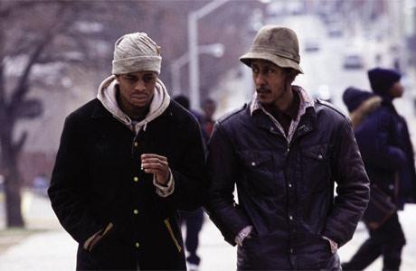 Fotograma de la serie de HBO The Wire