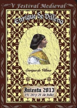cartel V Ferstival Medieval Enrique Villena 2013