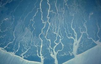 Niger Delta from space (c) NASA