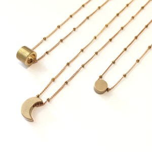 Little necklace • moon
