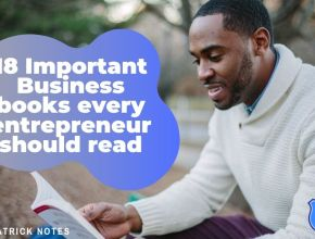 18 Important Business books every entrepreneur should read