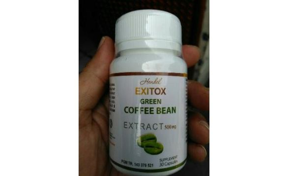 Hendel Exitox Green Coffee Bean Palsu