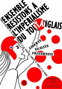 Pétition : L'anglo-américanisation à outrance de notre langue, de notre pays et de notre télévision ça suffit ! La France mérite mieux !