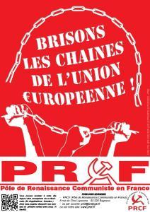 Sortir de l'euro, de l'UE : à gauche les lignes bougent vers le PRCF