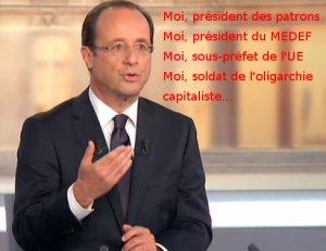 Chômage : Les annonces de François Hollande répondent aux diktats de la Commission Européenne !