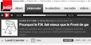 Aurélien Bernier: Battre le FN  – Entretien par D Mermet – Là bas si j'y suis
