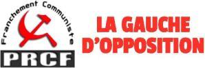 Gauche d'Opposition : Lettre ouverte du PRCF