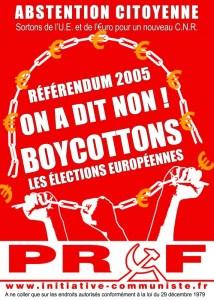 autocollant boycott