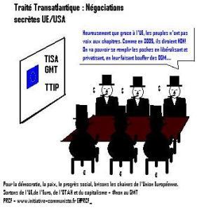 GMT / TAFTA / TTIP : des études prévoient un désastre économique  – [reprise]