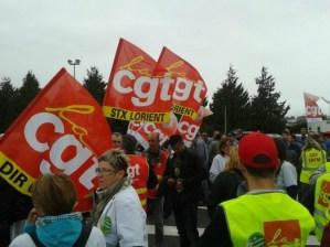 Construction navale STX Lorient  : le PRCF soutient les travailleurs des chantiers de l'Atlantique