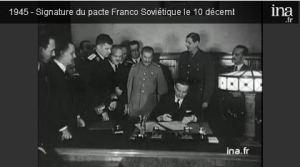 70ème anniversaire du pacte franco-soviétique