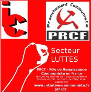 8 octobre Journée d'action, tous ensemble résistance ! Tract du PRCF