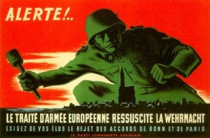 L'Union Européenne c'est la guerre : Juncker veut une armée, le retour de la CED