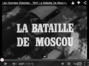 La bataille de Moscou #vidéo – 70e anniversaire de la victoire de l'URSS contre le fascisme