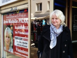 Entrevue de Michèle PICARD, maire de Vénissieux …
