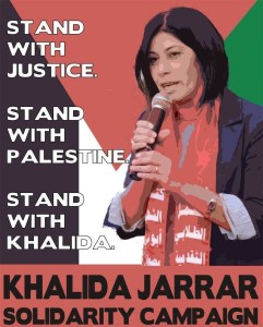 La militante palestinienne Khalida Jarrar a été arrêtée  – Communiqué