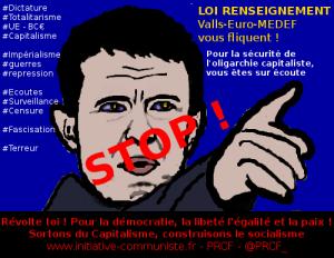 Loi renseignement : « lettre à ceux qui s'en foutent » #liberté vs #dictature #PJLrenseignement