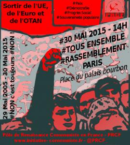 manifestation 30 mai
