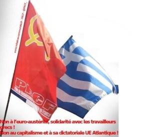 Solidarité avec le KKE : Déclaration commune des Partis Communistes .