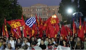Le gouvernement antipopulaire SYRIZA-ANEL « a semé le vent et récoltera la tempête »