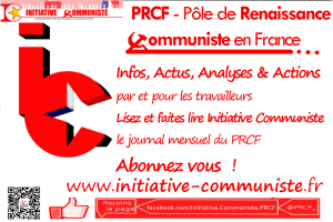 fond publicité Initiative communiste