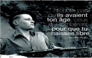 """Journée de la résistance et de la jeunesse.  """"La jeunesse dans la Résistance"""" – 17 octobre Nice – conférence débat"""