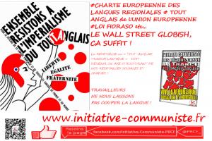 langue française tout anglais charte européenne des langues régionales