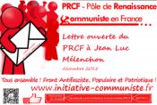 lettre ouverte jean luc mélenchon 2015