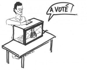 Jean-Luc Mélenchon à DPDA : caricature d'émission démocratique symptôme de la télévision totalitaire.