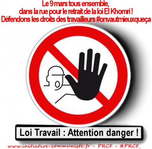 loi travail attention danger