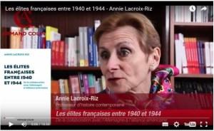 Annie LACROIX-RIZ Les « élites » françaises, de la Blitzkrieg à la pax americana (1940-1944) #vidéo