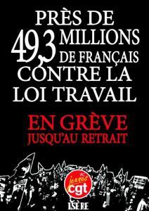 49,3 millions de français pour le retrait de la #LoiTravail et contre le #49al3 #manif12mai
