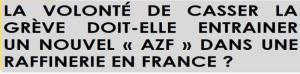 Vers un AZF dans les raffineries ? pour casser la grève, le gouvernement veut supprimer les règles de sécurité  #loitravail