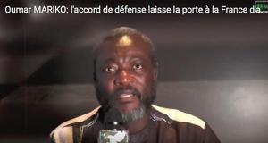#Vidéo de l'entrevue Dr Oumar MARIKO, président du Parti SADI du Mali, lors de son passage à Paris & déclaration condamnant l'attentat terroriste de Nice