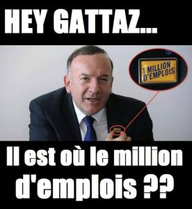 Et pour 90 milliards de plus, Gattaz crée un million de chômeurs de plus ?