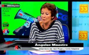 """PODEMOS : """"Les changements décisifs dans le rapport des forces ne seront jamais électoraux"""" – par Ángeles Maestro Red Roja"""
