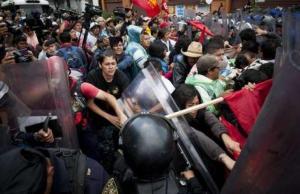 Stop à la répression au Mexique ! Le PRCF adresse son soutien aux travailleurs mexicains en lutte contre la Réforme de l'Éducation et l'oppression.
