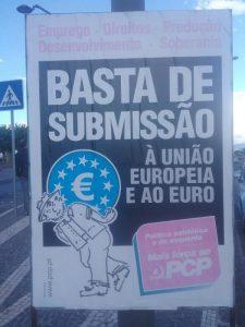 PCP sortie de l'euro