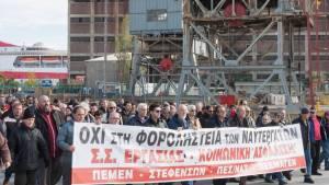 Contre l'euro austérité : les travailleurs en grève générale en Grèce à l'appel du PAME le 8 décembre