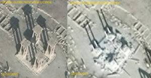 A Palmyre, #DAECH continue de détruire la cité antique.