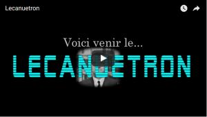 #vidéo Macron c'est retour vers le passé : voici venir lecanuetron !