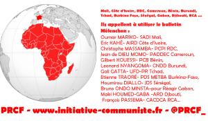 L'AFRIQUE INSOUMISE invite les Africains de France à voter pour Jean-Luc MÉLENCHON le 23 avril 2017