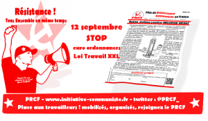 Union Action contre Macron-MEDEF et l'UE du Capital #12sept #tract #loitravailXXL